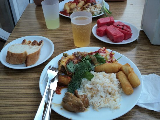 Sun Maris City Hotel: Кормили правда очень вкусно