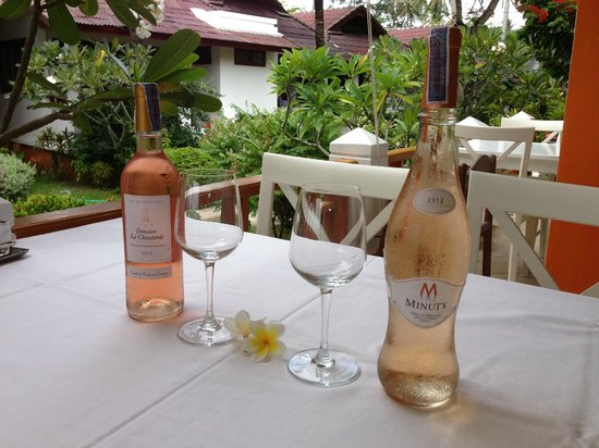 Hacienda Beach Restaurant : FRENCH WINE KOH SAMUI