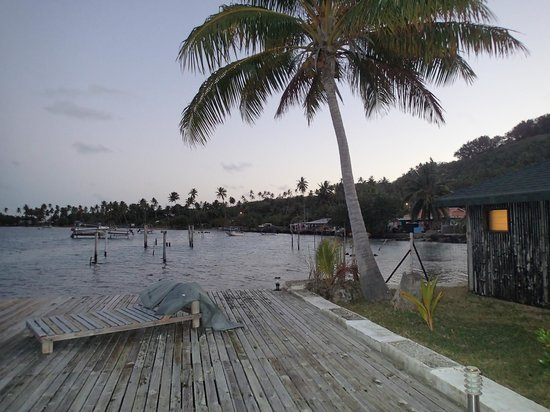 Bora Bora Ecolodge : Vue