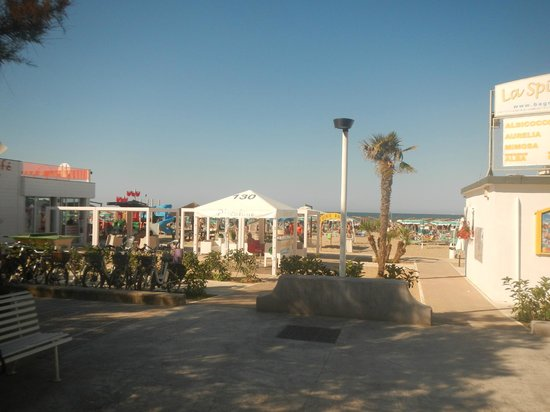 Riccione, Italië: ingresso spiaggia 130