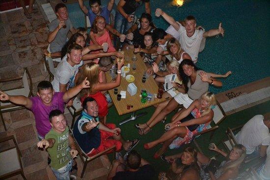 Sun Maris City Hotel: вот такая вот компания собралась у нас в отеле, все подружились  и было так весело