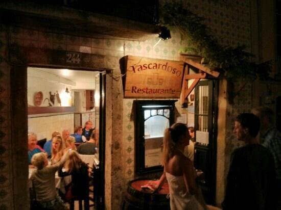 Restaurante Tascardoso: Tascardoso by night