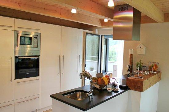 Luxuslodge: Die Küche