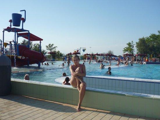 Camping Capalonga: swimming pool at Capalonga