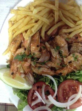 Casa De Pasto O Calvario: prawns