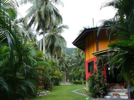 Blessed Koh Chang : Vue du jardin