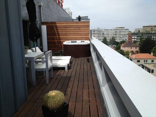 BessaHotel Boavista : La terrasse