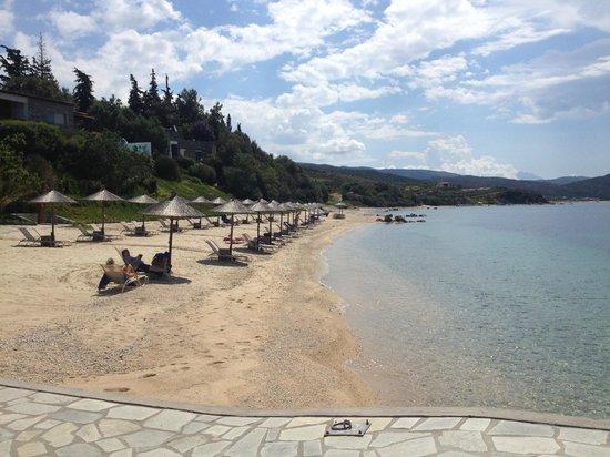 Eagles Palace: beach