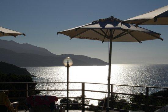 Hotel Casa Rosa : vue de la piscine