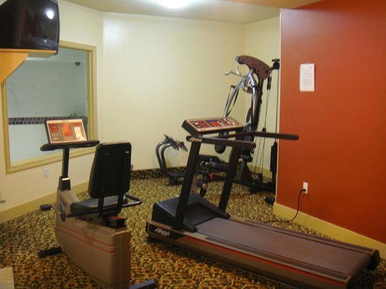 BEST WESTERN Peace Arch Inn: Small Gym Area