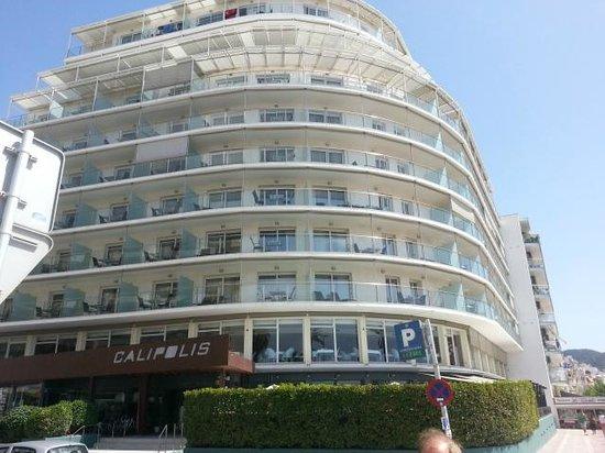 Hotel Calipolis: L'esterno dell'hotel
