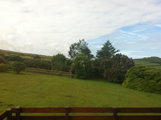 Garn Fach: View from the twin bedroom