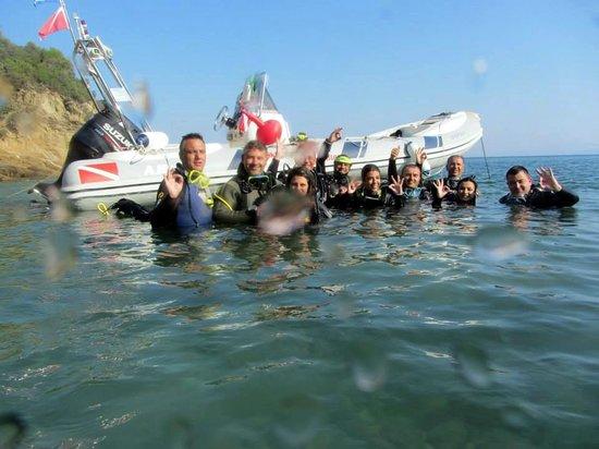 Skiathos Diving Center: Back home safely!