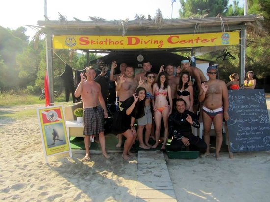 Skiathos Diving Center: Afterparty :-)