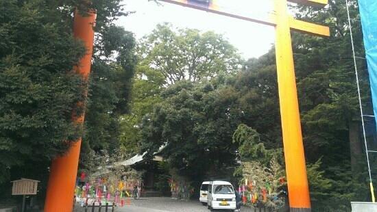 Kawagoe Hikawa Shrine: entrada