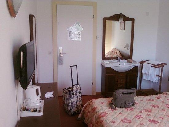 Hotel du Marche: La chambre