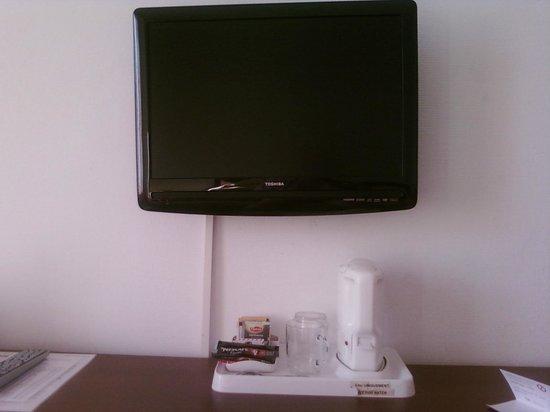 Hotel du Marche: Le tele