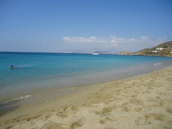 Hotel Kavuras Village: La spiaggia, a dir poco stupenda!