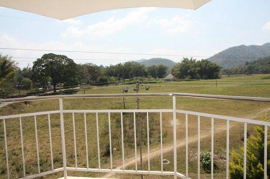 Periyar Meadows Leisure Hotel : Aussicht vom Balkon aus