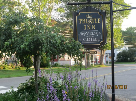 The Thistle Inn: sign
