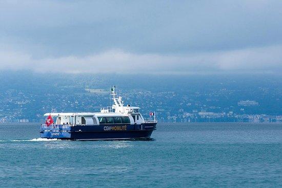 Jusqu'à 100 traversées par jour sur les 4 lignes CGN-Mobilité