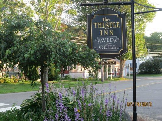 The Thistle Inn Restaurant: sign