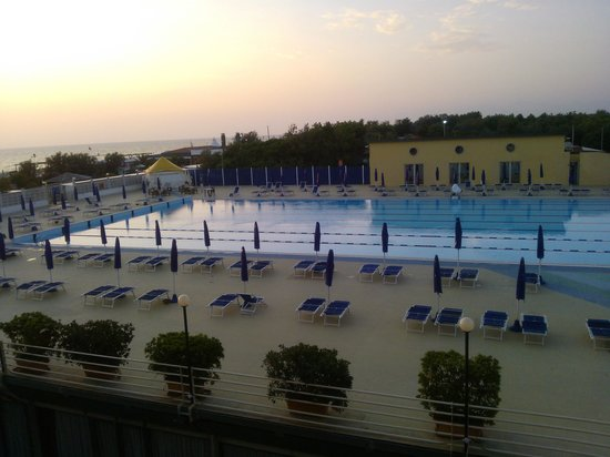 Grand Hotel Continental: Tramonto in ... camera