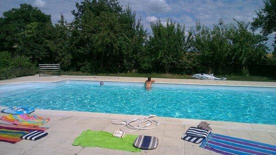 Saint Aubin du Desert, Francia: The pool
