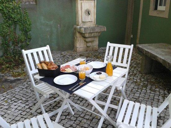 OH Casa Sintra: Un desayuno buenisimo