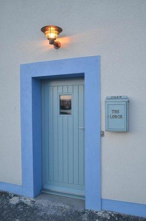 The Lodge Islay: Lodge Front Door