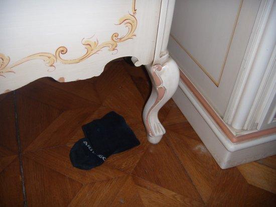 Palazzo Guardi: proprete de la chambre....
