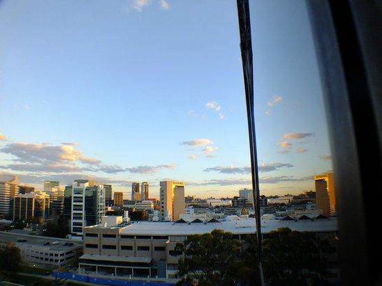 Novotel Sydney Parramatta: Looking towards CBD