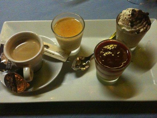 Restaurant-Brasserie Face aux Bateaux : café gourmand 2