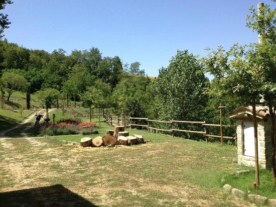 Agriturismo Marzanella: giardino
