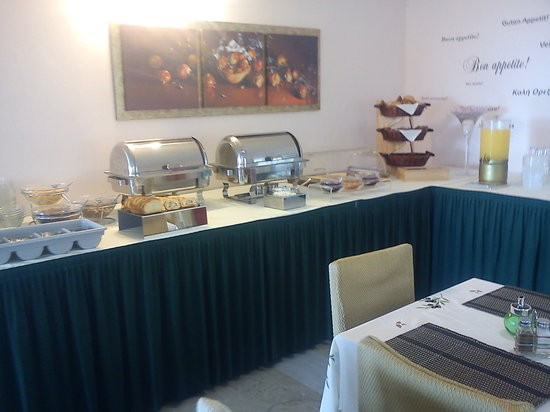 Victoria Hill Hotel: breakfast buffet