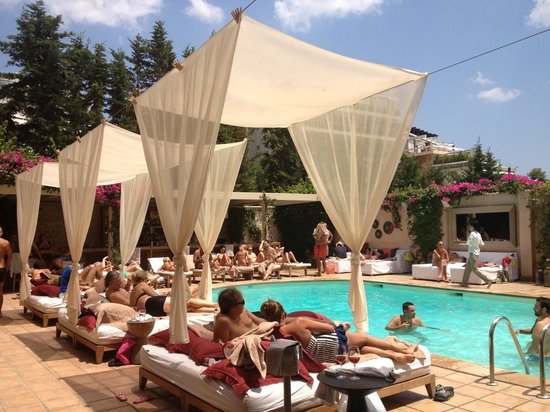 The Margi: Pool area
