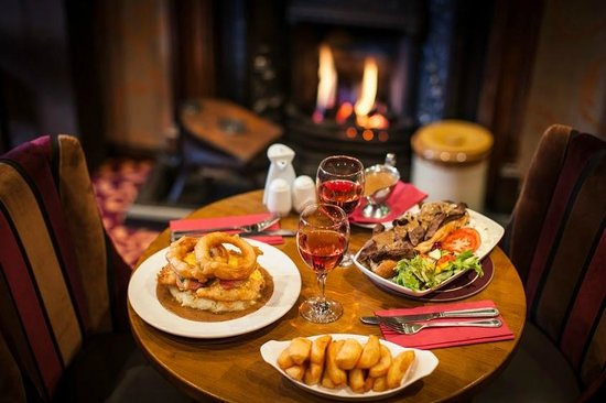 The Parlour Bar: Selection of our food