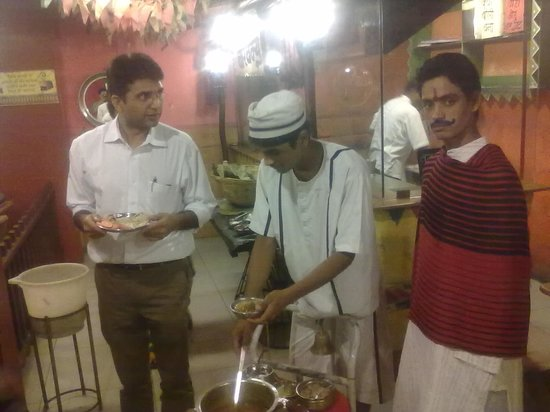 Village : Sholay Thakur serving