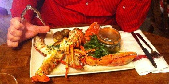 Oddfellows Arms: Lobster
