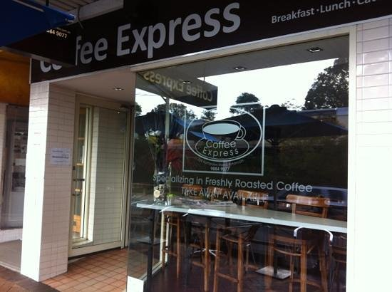 Coffee Express: Cafe Artarmon Sydney