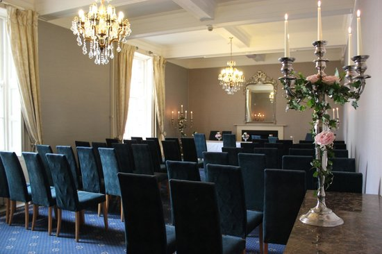 The City Rooms: Wedding set-up in Drawing Room
