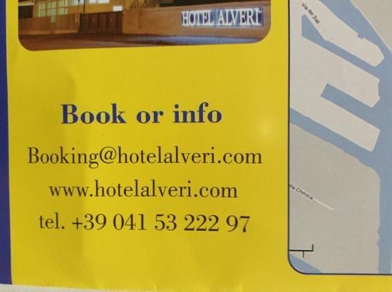 Hotel Alveri : booking info