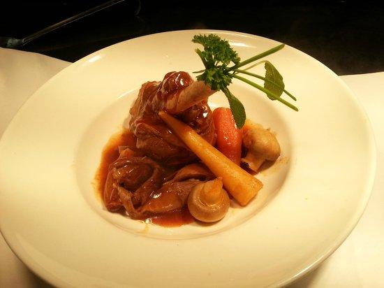 Ard na Breatha Restaurant: Slow Roast Irish Lamb Shank