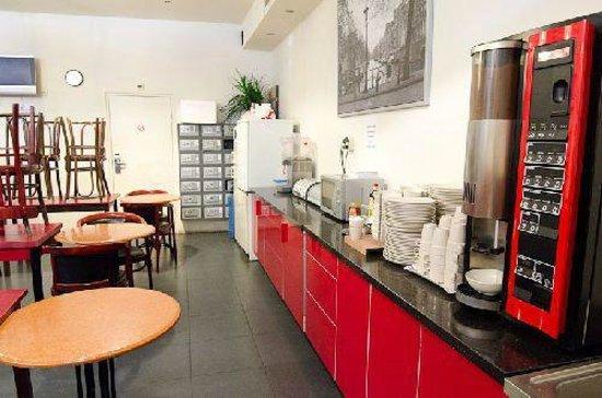 Marnix Hotel : Common room/Kitchen