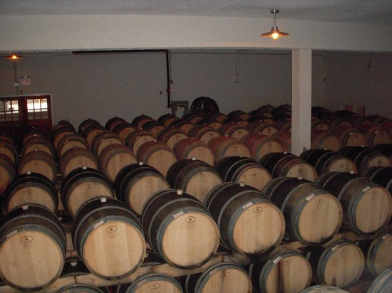 Pelee Island Winery: Oak Barrels for Red Wines