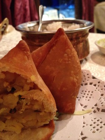 Ganges Indian Restaurant : Vegetarian appetizer
