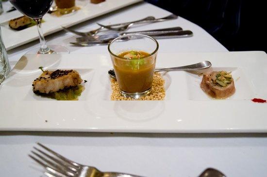 The Playford Restaurant: Entree tasting plate