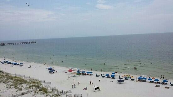 Clearwater Condominiums : view from balcony straight out