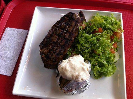 La Vaca: Bife de Chorizo