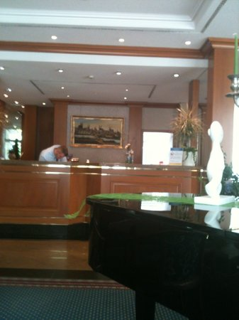Hotel Ratswaage: Reception Area